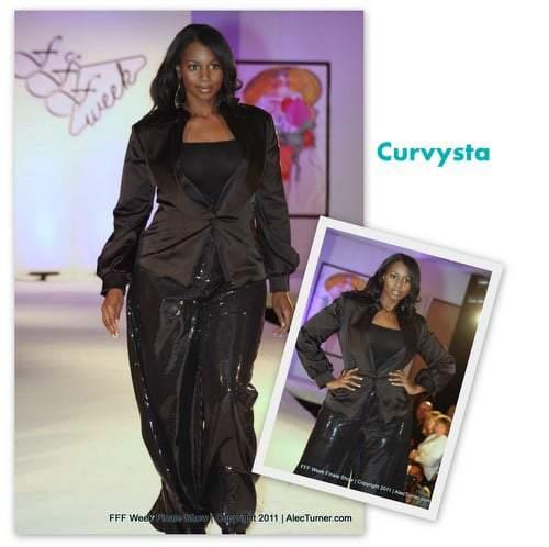 Full Figured Fashion Week Finale 2011- Curvysta