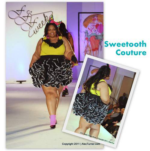 Full Figured Fashion Week Finale 2011- Sweetooth Couture