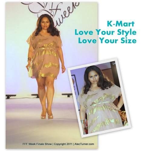 Full Figured Fashion Week Finale 2011- K Mart