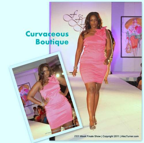 Full Figured Fashion Week Finale 2011- Curvaceous Boutique
