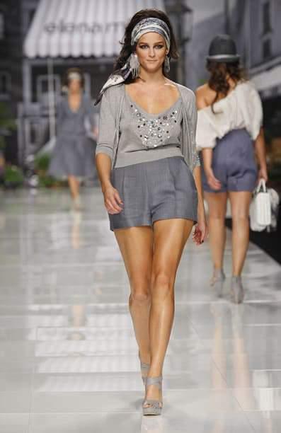 Plus size designer Elena Miro Spring 2011