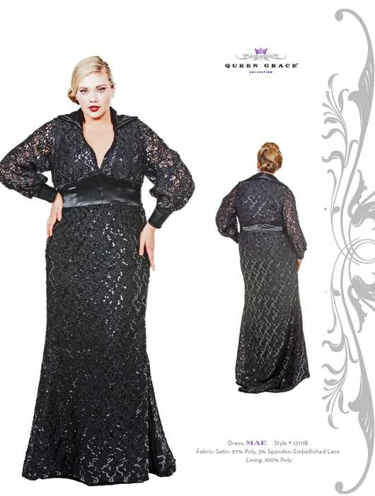 Plus Size Designer Queen Grace Fall 2011 Collection