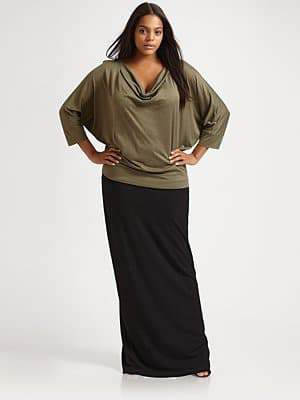 Eileen Fisher Draped Neck Top