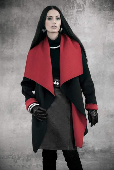 Lafayette 148 Shawl Collar Coat