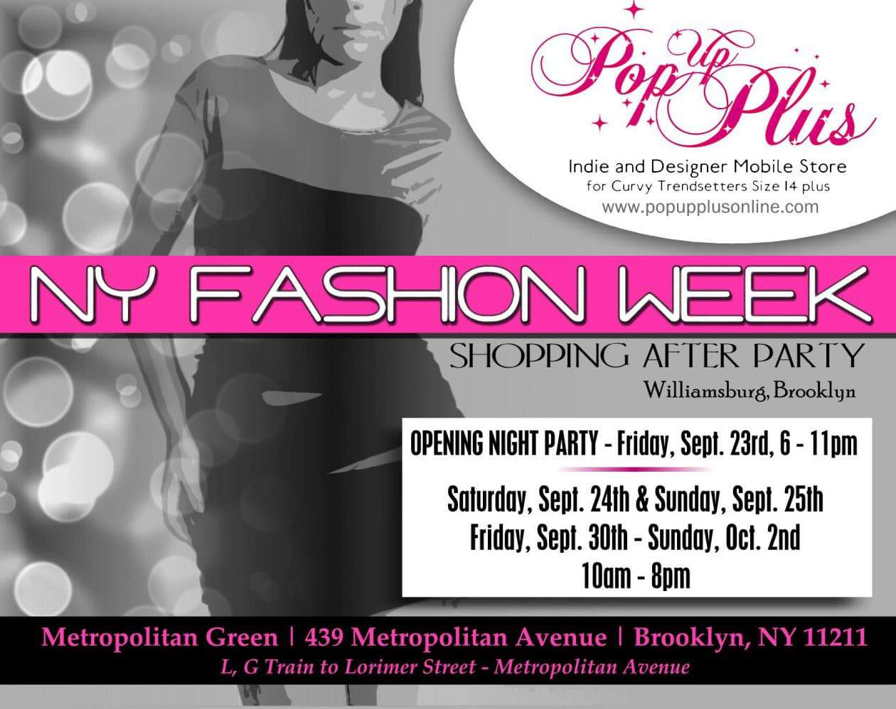 Pop Up Plus NYC