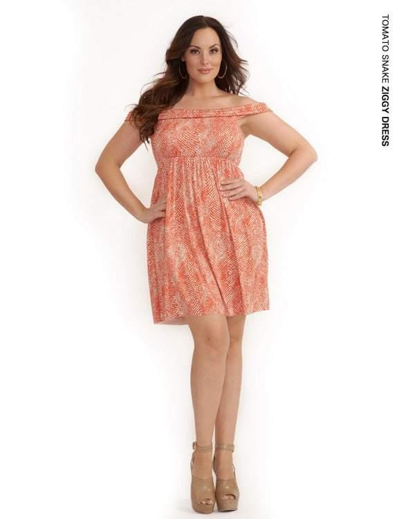 Rachel Pally White Label Holiday 2011: Tomato Ziggy Dress