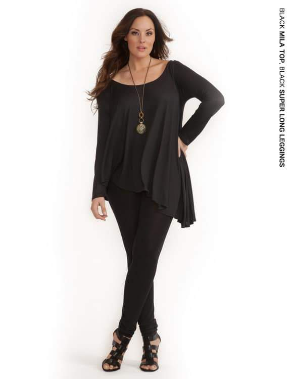 Rachel Pally White Label Holiday 2011: Mila Top and Super Long Leggings