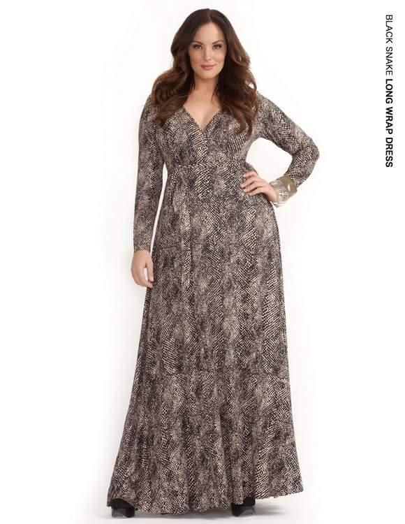 Rachel Pally White Label Holiday 2011: Snake Wrap Dress