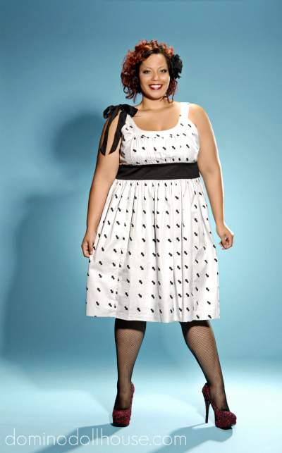 Domino Dollhouse Plus Size Fall 2011 Collection- Dottie Noir