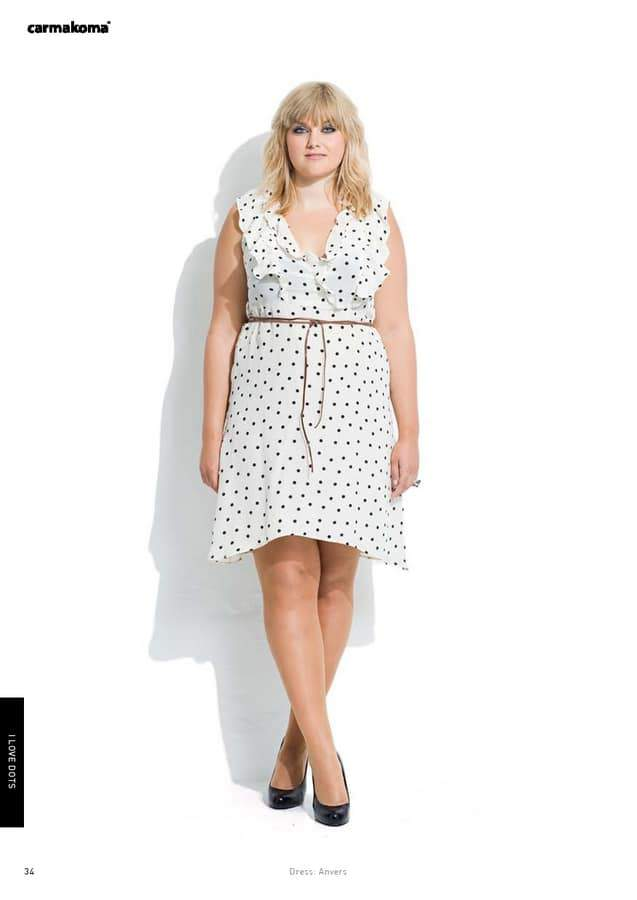 Plus Size Designer- CarmaKoma Spring 2012 Look Book: Attitude is Everything