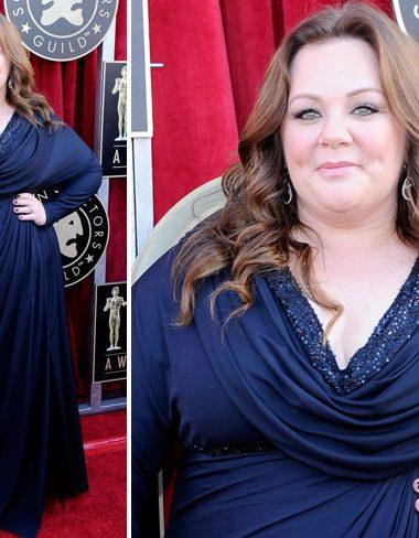 Melissa McCarthy at the 2012 SAG Awards