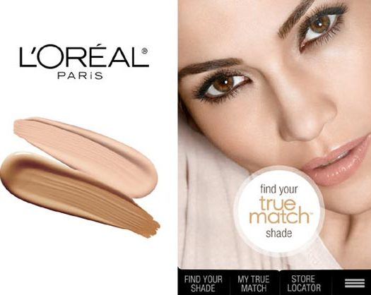 L'Oreal True Match app