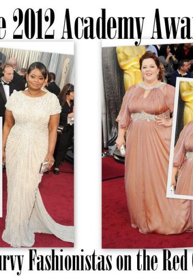 Plus Size Fashion on the Red Carpet at the 2012 Academy Awards