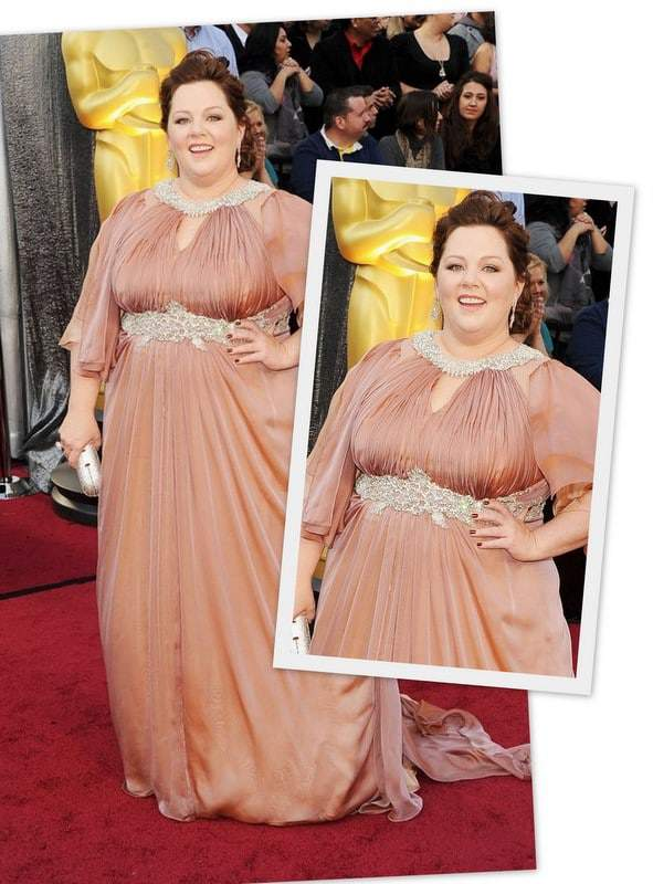 Academy Award Nominee Melissa McCarthy on the Red Carpet