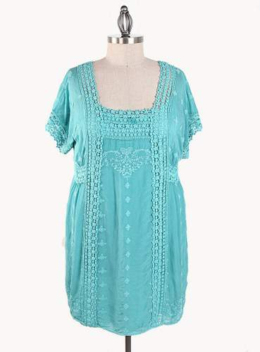 Johnny Was in Plus Sizes: Tunic Dress