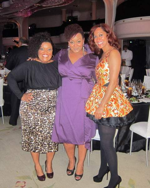 The Curvy Fashionista with Yvette Nicole Brown and Tracee Ellis Ross at the Essence Black Women in Hollywood Luncheon