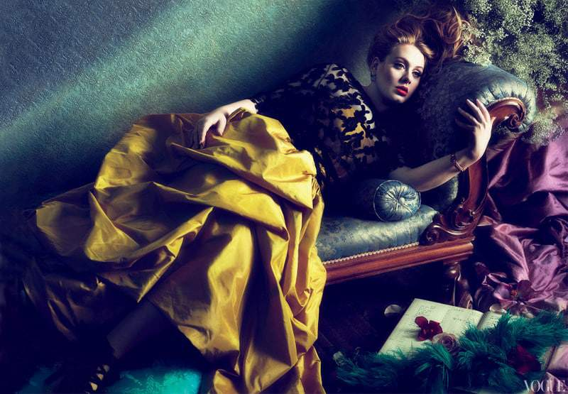 Adele graces the March cover of Vogue