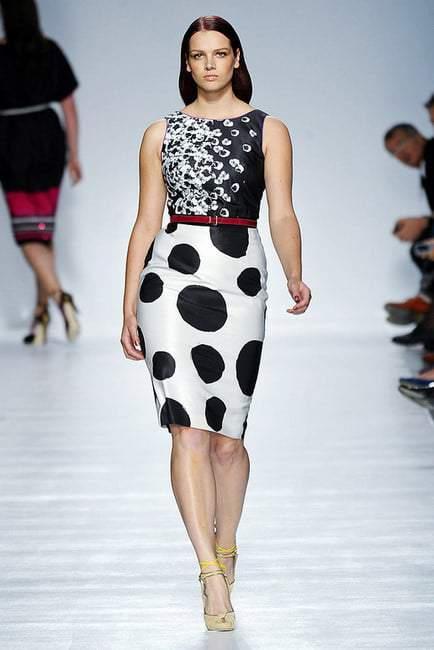 Plus Size Designer- Elena Miro Spring 2012
