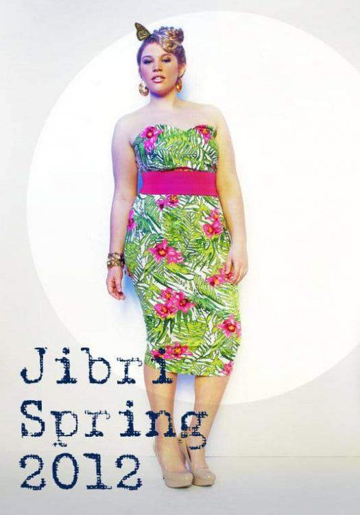 Plus Size Designer Jibri Spring 2012