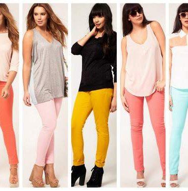 Spring 2012 Trend: Colored Denim