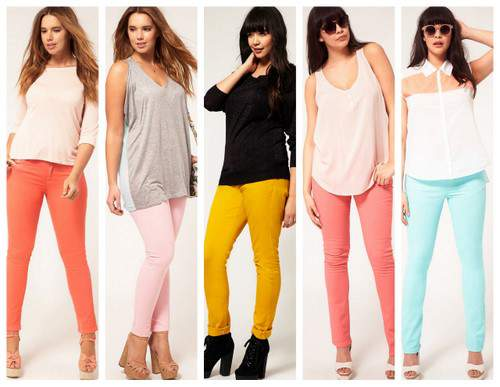 Spring 2012 Trend: Colored Denim
