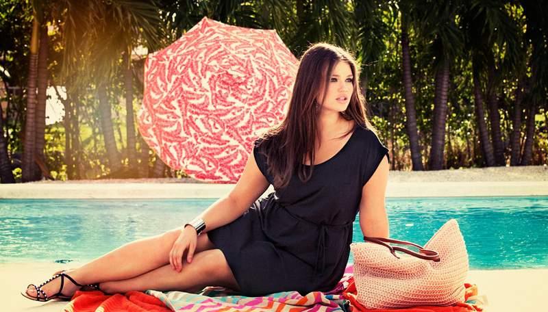 Tara Lynn for H&M+ Swim 2012
