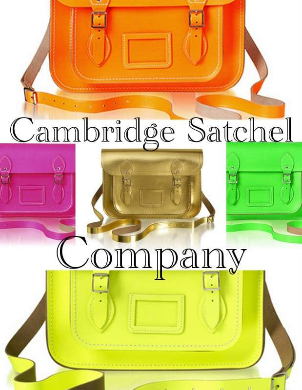 Neon Satchels by Cambridge