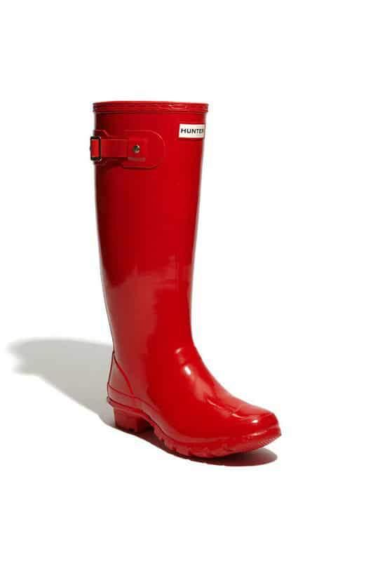 Hunter Huntress Wide Calf Rain Boots