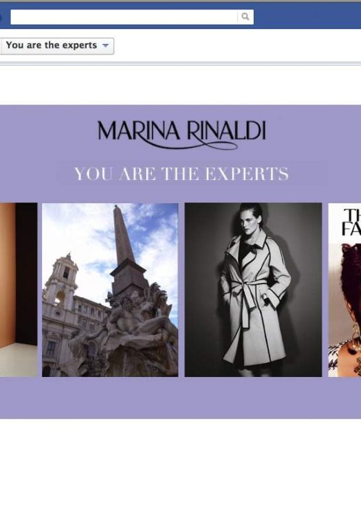 Marina Rinaldi's Facebook App: You Are The Experts with The Curvy Fashionista