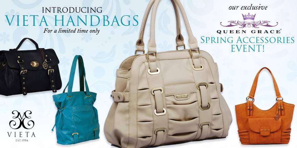 Queen Grace Announces Vieta Bags Limited Edition