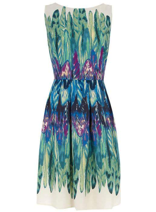 Dorothy Perkins Feather detail dress