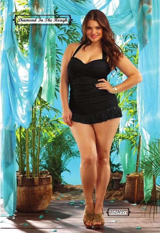 Plus Size Swim Wear Brand: Becca Etc