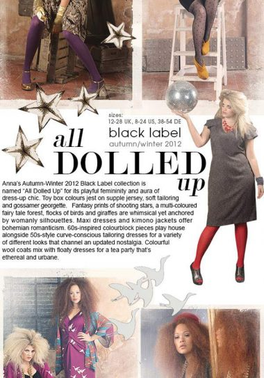 Anna Scholz Fall 2012 Collection: All Dolled Up