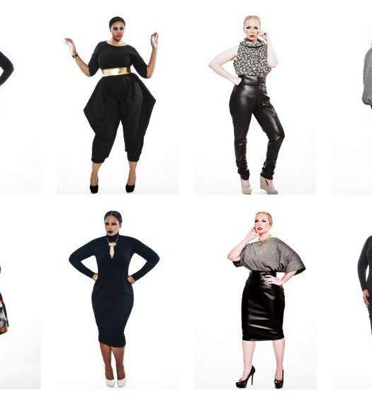 Plus Size Designer Jibri Fall 2012