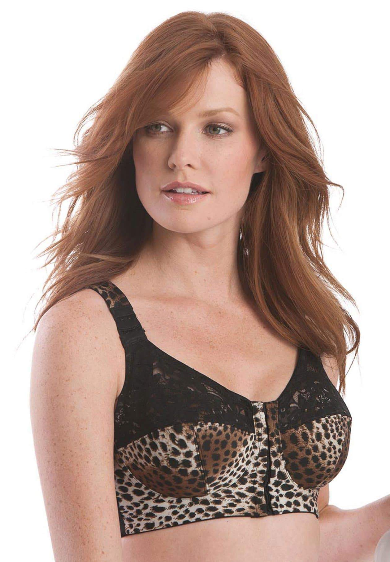 Posture support wirefree bra by Comfort Choice