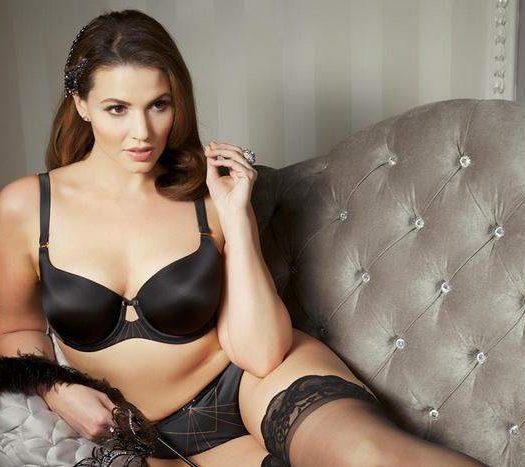 New Plus Size Bra Designer Curvy Couture: Modern Deco