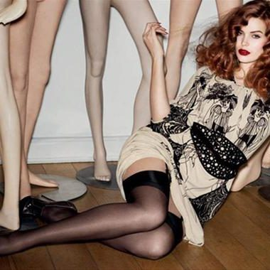 Evans x Clements Ribeiro Fall 2012 Swan Collection
