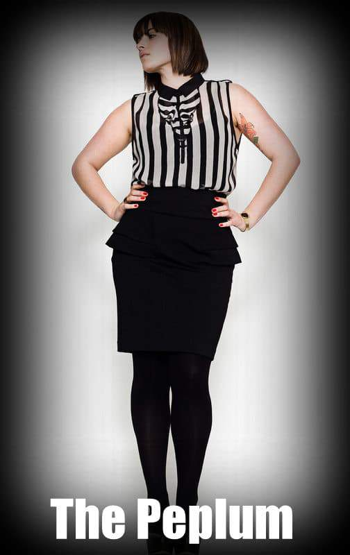 Fall 2012 Trends for Plus Size Fashion: Peplums
