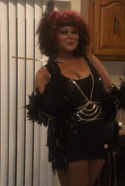 The Curvy Fashionista's Halloween Costume