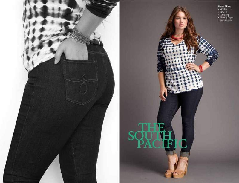 Lucky Brand Plus Size Spring 2013 Look Book