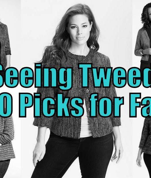 Plus Size Fall Trend : Tweed Picks