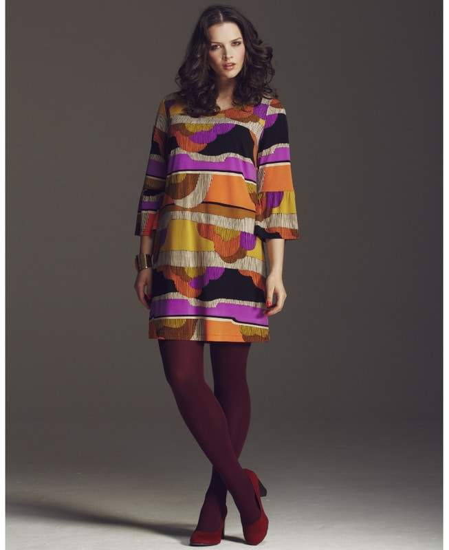 Anna Scholz for SImply Be Print Tunic Dress