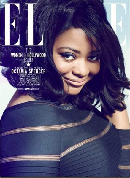 November 12 Elle Mag Cover featuring Octavia Spencer