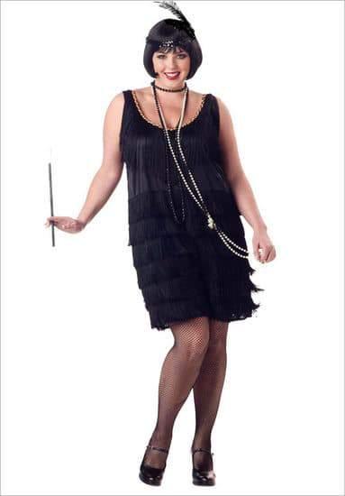 Plus Size Flapper Costume