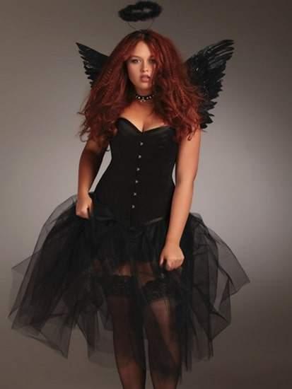 Plus Size Dark Angel Costume