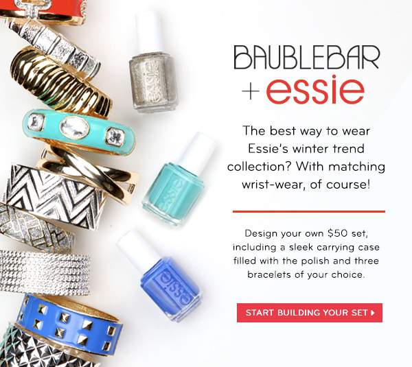 Essie and Bauble Bar Collaboration