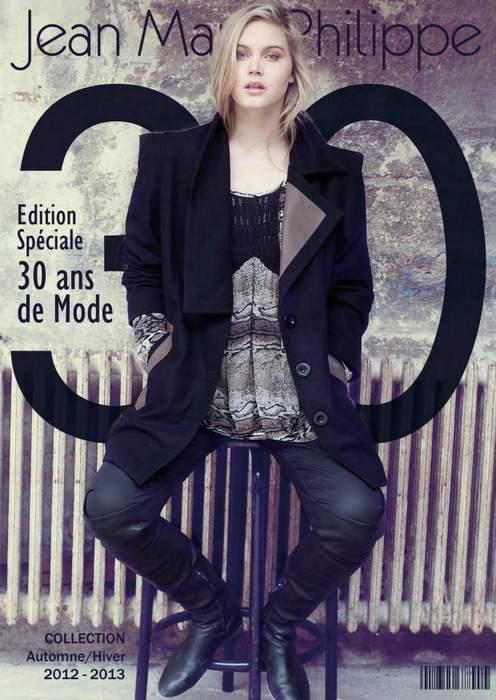 Plus Size Designer Jean Marc Philippe Fall 2012