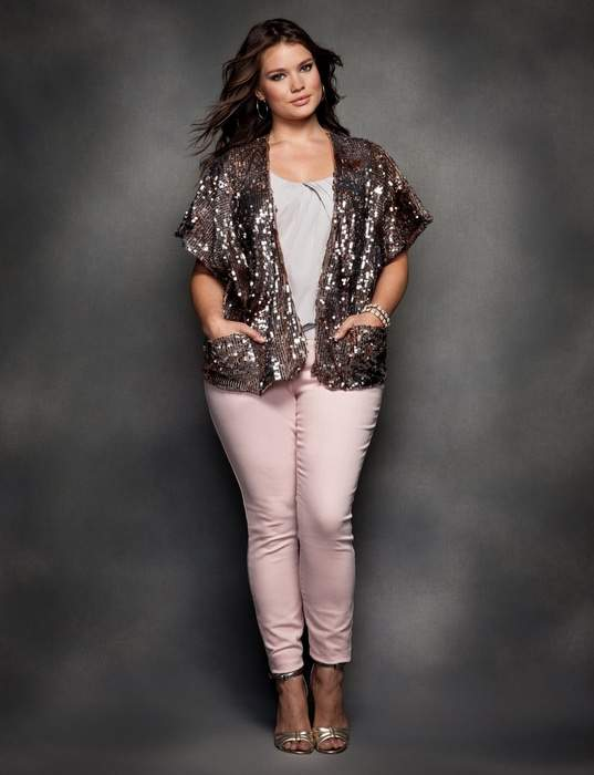 the 2012 Eloquii Holiday Look Book