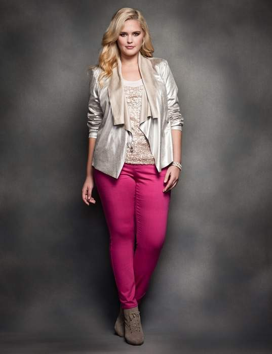 the Eloquii Holiday 2012 Look Book