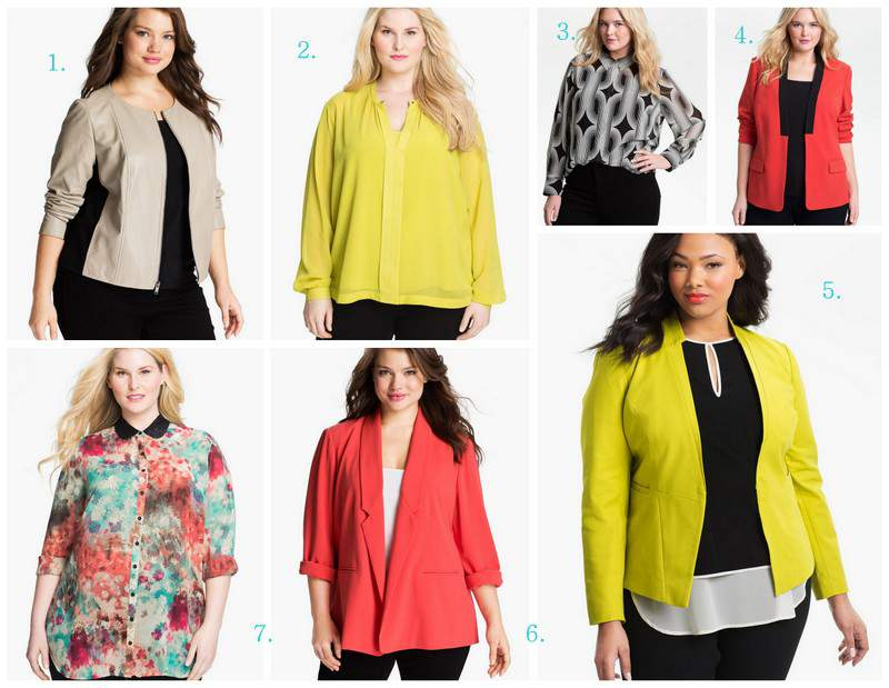 Jan Nordstrom Top Picks from The Curvy Fashionista